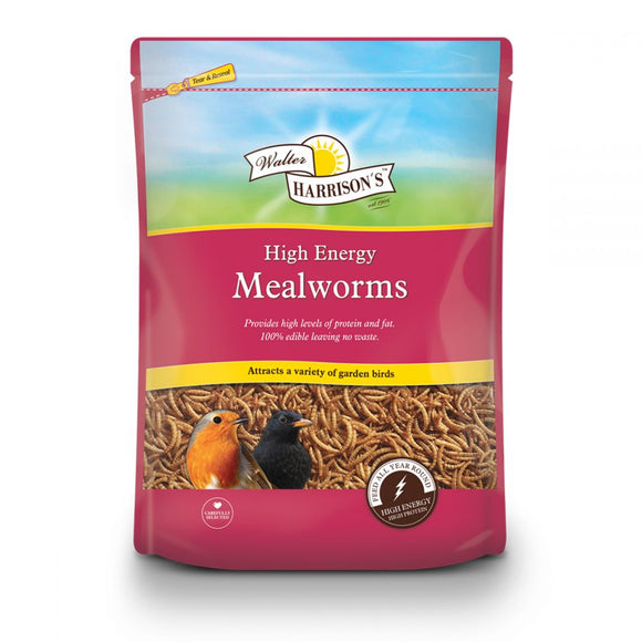 Walter Harrison's High-Energy Mealworms Pouch 1kg