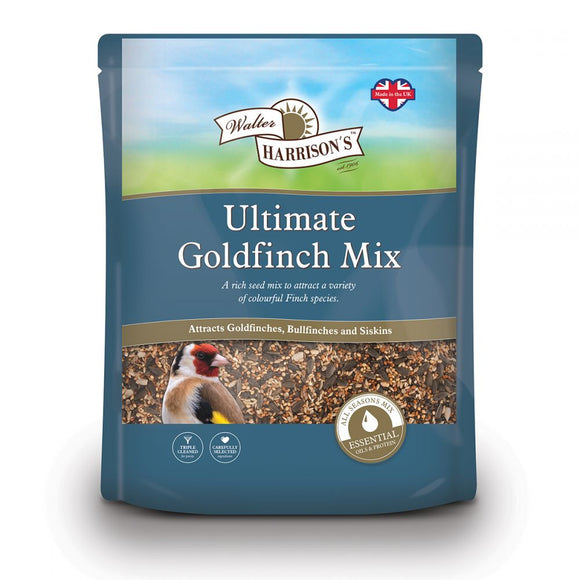 Walter Harrison's Ultimate Goldfinch Mix Bird Feed Pouch 2kg