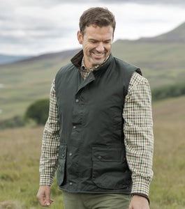 You added <b><u>Hoggs Mens Waxed Waistcoat Olive Green</u></b> to your cart.