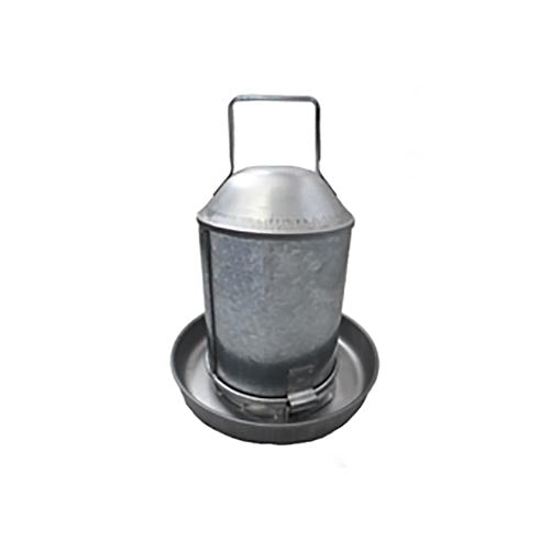 Stockshop Richard Albert Galvanised Drinker 2.25L