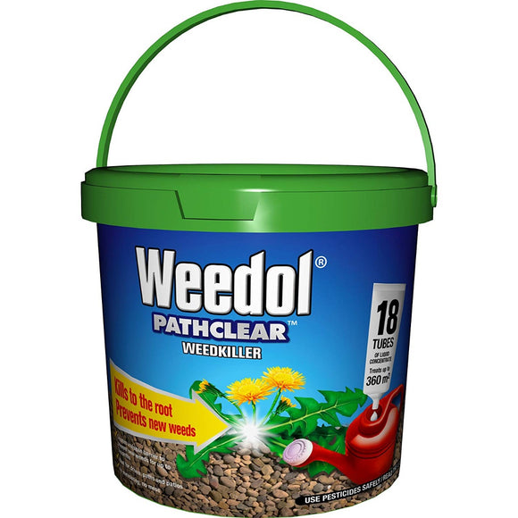 Weedol Pathclear Weedkiller Liquid Concentrate 18 Tubes