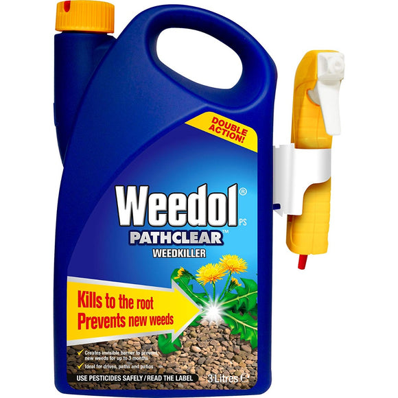 Weedol PS Pathclear Weedkiller Spray 3L