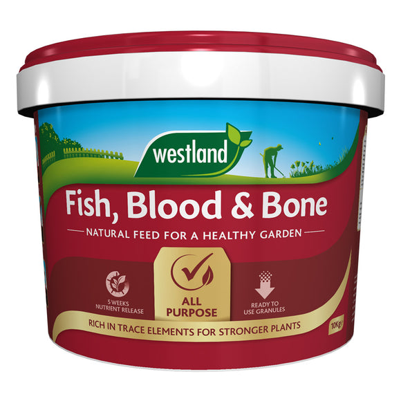 Westland Fish Blood & Bone Granular Plant Food 10kg