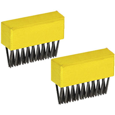 Wolf Garten Multi-Change Weeding Brush Heads - Twin Pack