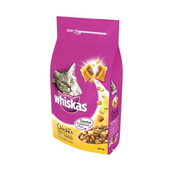Whiskas Cat Food Chicken 2kg