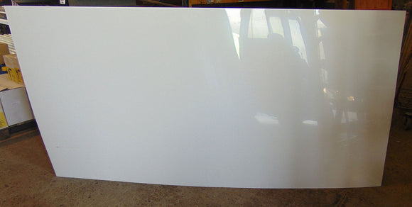 Oadby White PVC Cladding 2.44m x 1.22mm