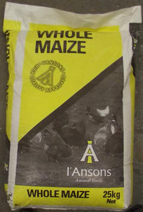 I'ansons Chicken Whole Maize 25kg