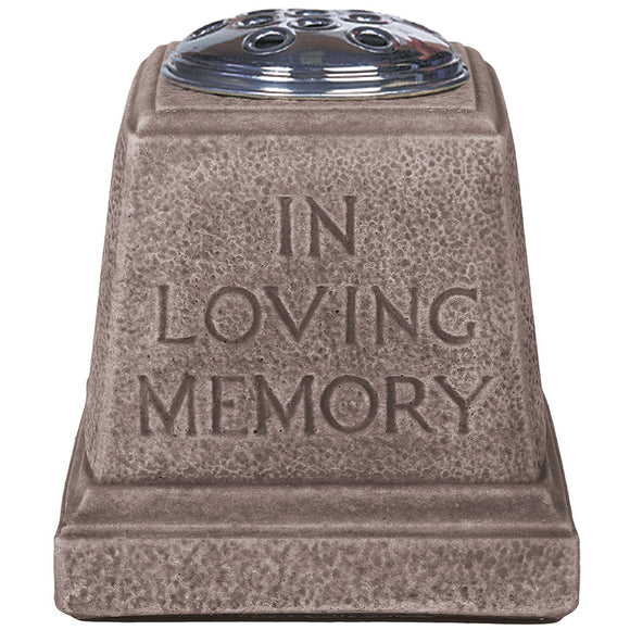 Willowstone In Loving Memory - Antique Grey