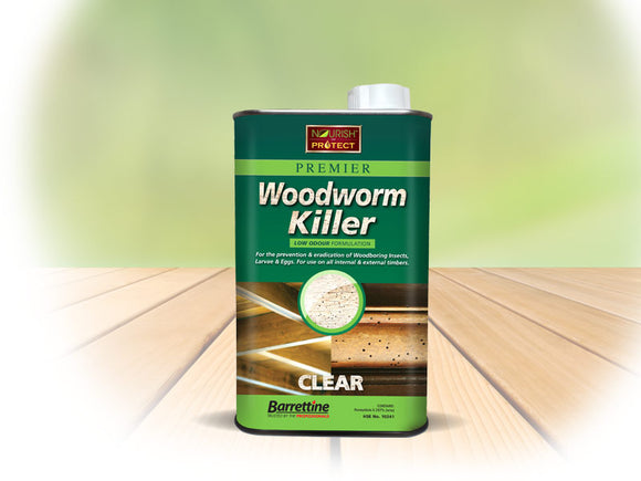 Barrettine Premier Woodworm Killer 1L