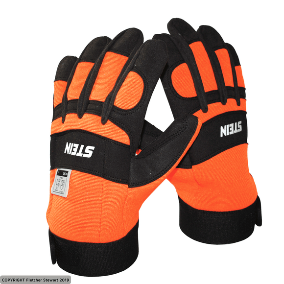 STEIN Chainsaw Gloves with Velcro Cuffs