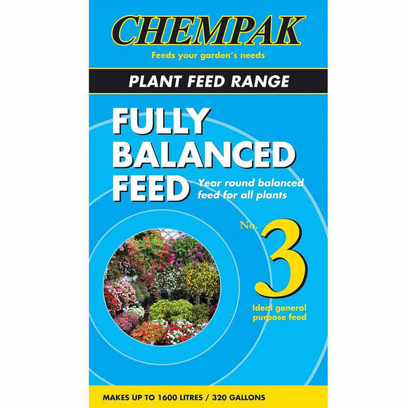 Chempak Plant Feed Range Fully Balanced Feed Formula 3 750g