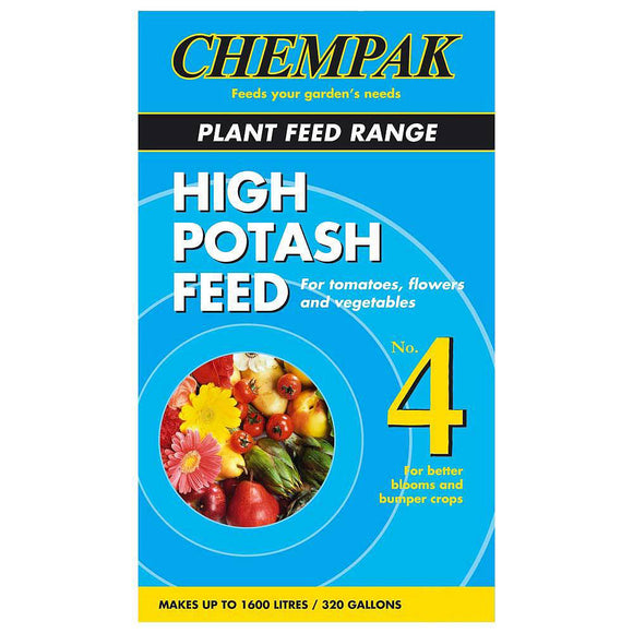 Chempak Plant Feed Range High Potash Feed Formula 4 750g