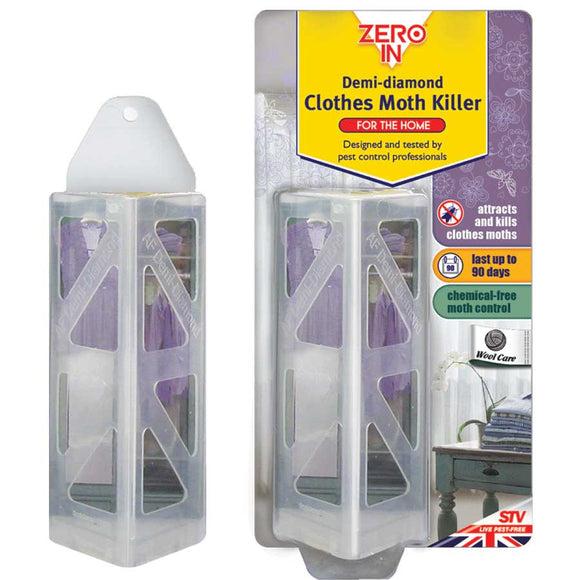 Zero-In Demi-Diamond Clothes Moth Killer