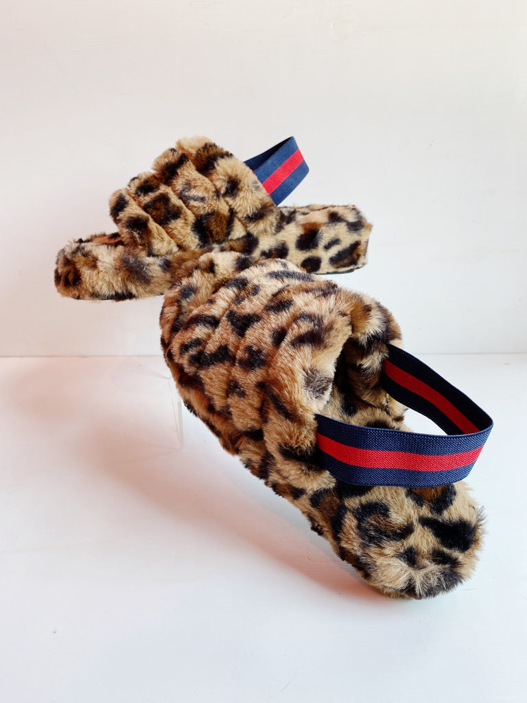 Leopard Slides (Slippers)