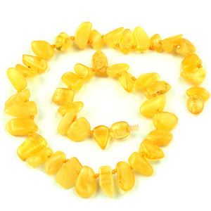 Baby Teething Necklace Special Dog Tooth Shaped Beads