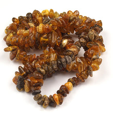 Load image into Gallery viewer, Health Necklace 26 inch Green Baltic Amber Chips