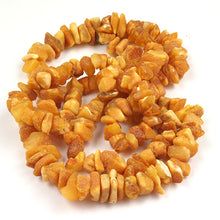 Load image into Gallery viewer, Health Necklace 27 inch Raw Butterscotch Baltic Amber Chips