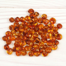 Load image into Gallery viewer, Baltic Amber Beads Baroque 6-8 mm Honey 10 grams