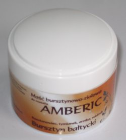Amber Massage Cream - Amberic Amber Ointment
