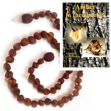 Load image into Gallery viewer, Burnished Baby Teething Necklace with Booklet