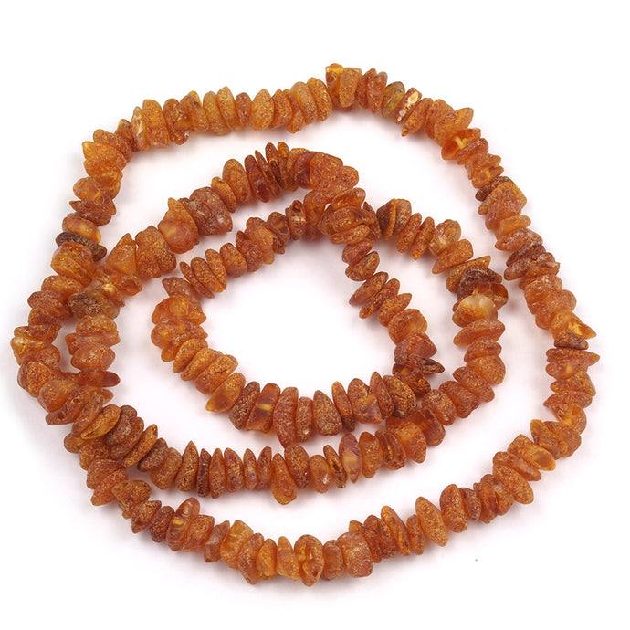 Health Necklace 27 inch Raw Honey Baltic Amber Chips