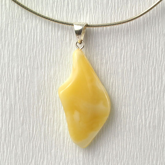 Natural Baltic Amber Pendant - 2.2 grams
