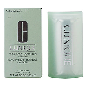 Savon enrichi Facial Soap Clinique | leadershopping.fr