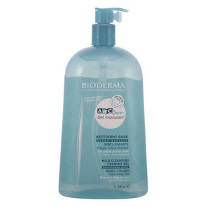 Gel nettoyant moussant Abcderm Bioderma