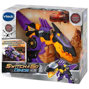 Véhicule transformers Switch Go Dino Rayo Vtech