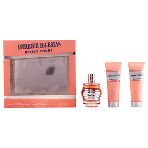 Set de Parfum Femme Enrique Iglesias Deeply Yours Woman Singers 925801 (3 pcs) | leadershopping.fr