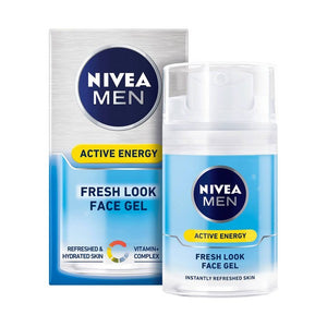 Crème visage nourrissante Men Skin Active Energy Nivea (50 ml) | leadershopping.fr