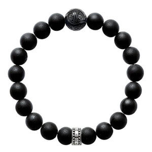 Bracelet Femme Thomas Sabo AIR-A1085-023-11-L Noir | leadershopping.fr