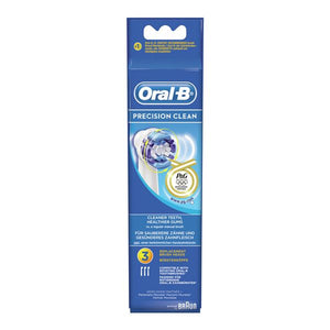 Rechange brosse à dents électrique Oral-B Precision Clean 3 pcs | leadershopping.fr