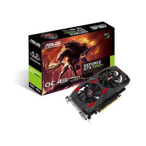 Carte Graphique Gaming Asus 90YV0A74-M0NA00 4 GB GDDR5 1480 MHz | leadershopping.fr