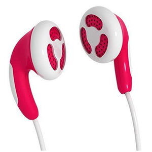 Casque Maxell Colour Budz M138 in-ear Rouge | leadershopping.fr