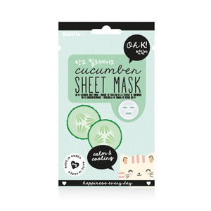 Masque facial Cucumber Oh K! (20 ml) | leadershopping.fr