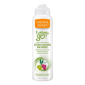 Lotion pour le corps extra nourrissante Lotion & Go! Natural Honey (200 ml)