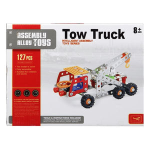 Set de construction Camion avec grue 117608 (127 Pcs) | leadershopping.fr