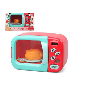 Micro-ondes Cooking Kid Rouge | leadershopping.fr