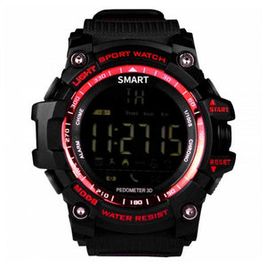 "Montre intelligente BRIGMTON BWATCH-G1R 1,12"" Bluetooth IP67 Rouge"