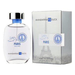 Parfum Homme Let's Travel Paris Mandarina Duck EDT (100 ml)
