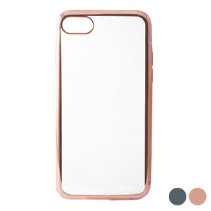 Protection pour téléphone portable Iphone 7/8 KSIX Flex Metal TPU Flexible | leadershopping.fr