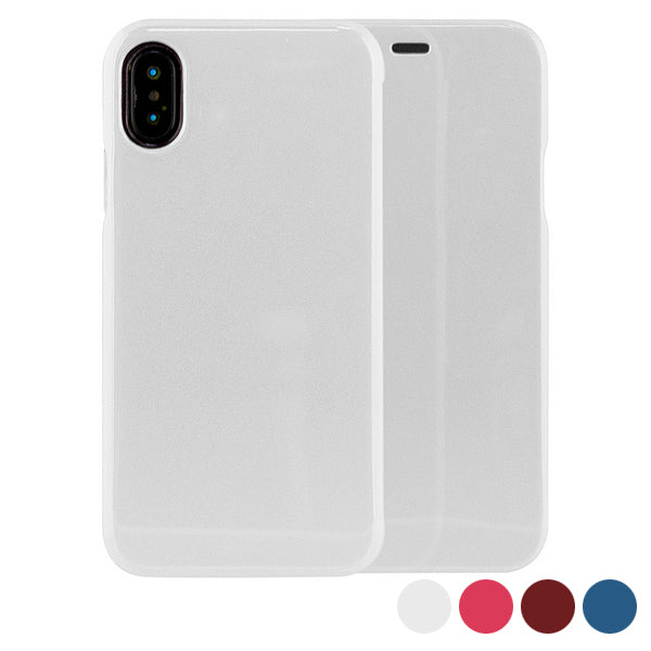 Housse Folio pour Mobile Iphone X/xs KSIX Hard Case