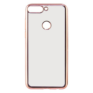 Protection pour téléphone portable Huawei Y7 2018 KSIX Flex Metal TPU Flexible | leadershopping.fr