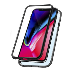 Boîtier Iphone Xr KSIX Magnetic Noir | leadershopping.fr