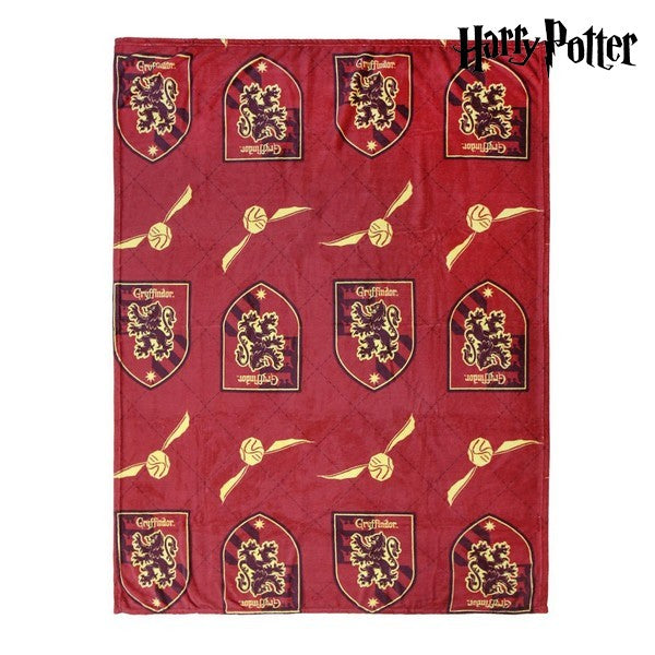 Couverture en flanelle Harry Potter 74520 Rouge (120 X 160 cm)