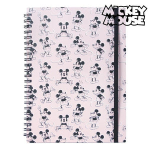 Cahier à Spirale Mickey Mouse | leadershopping.fr