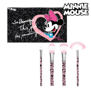 Kit de broche de maquillage Minnie Mouse (5 pcs) Noir | leadershopping.fr