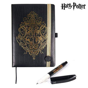 Ensemble de Papeterie Harry Potter Noir (2 pcs)