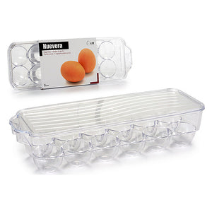 Coquetier Plastique Transparent (11,5 x 7,5 x 32,5 cm) | leadershopping.fr